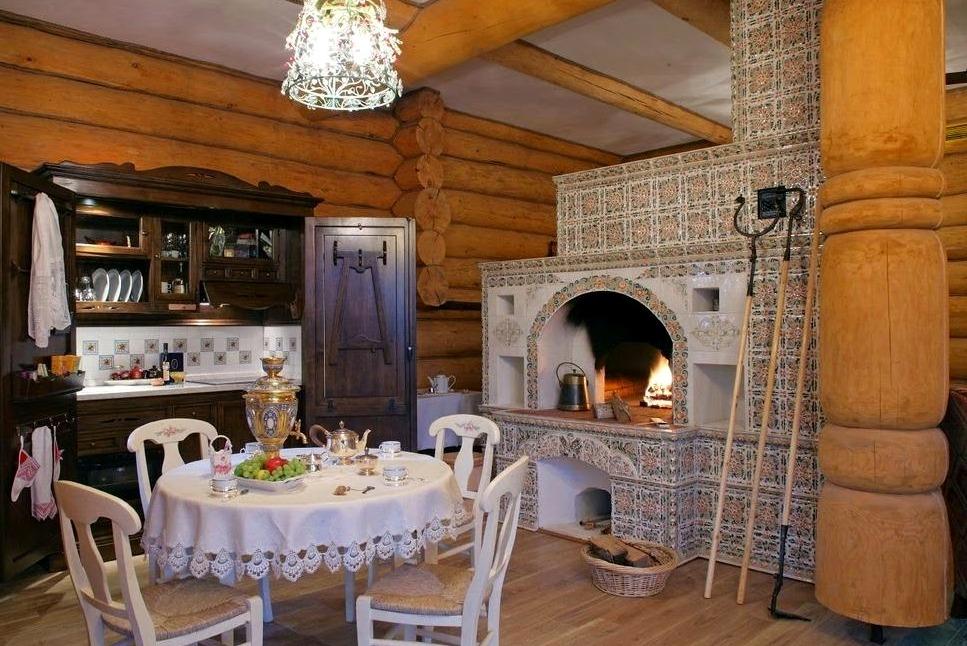 деревянный дом в русском стиле1