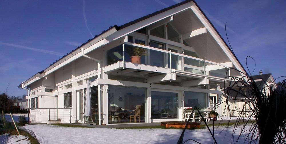деревянный дом в стиле шале3