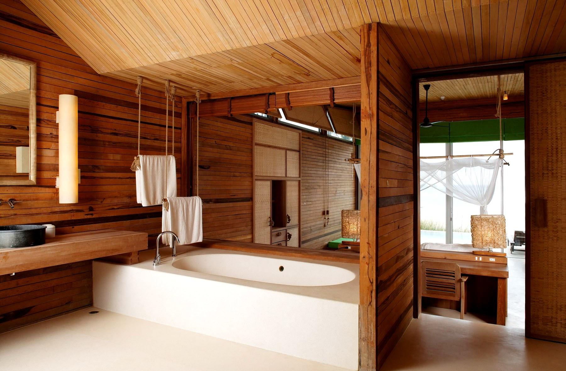 Деревянные комнаты фото