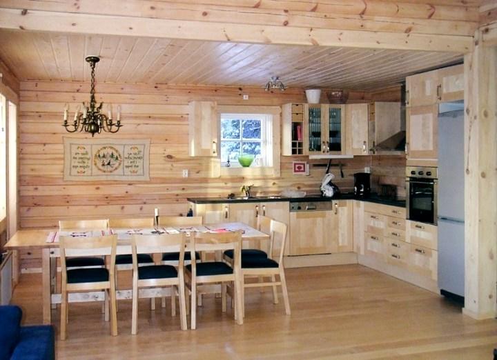 дизайн деревянного дома фотогалерея интерьера4