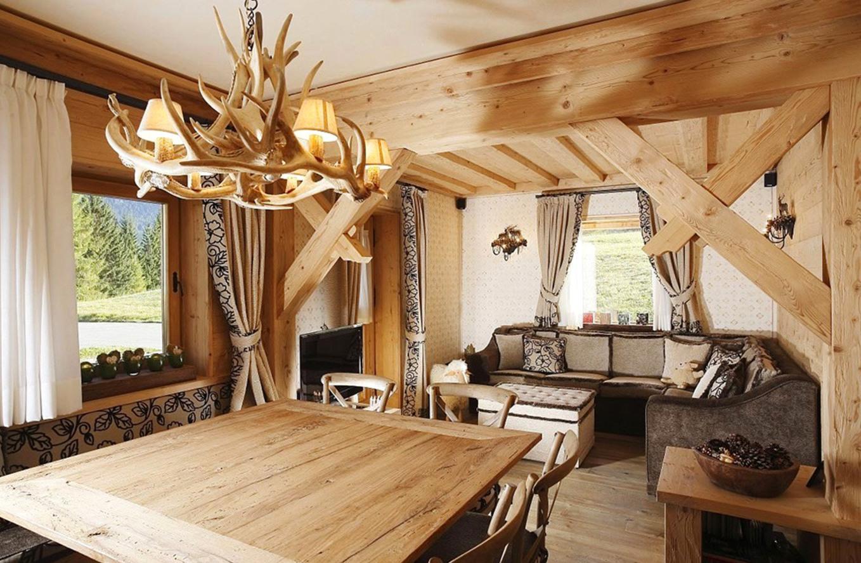 дизайн деревянного дома фотогалерея интерьера5