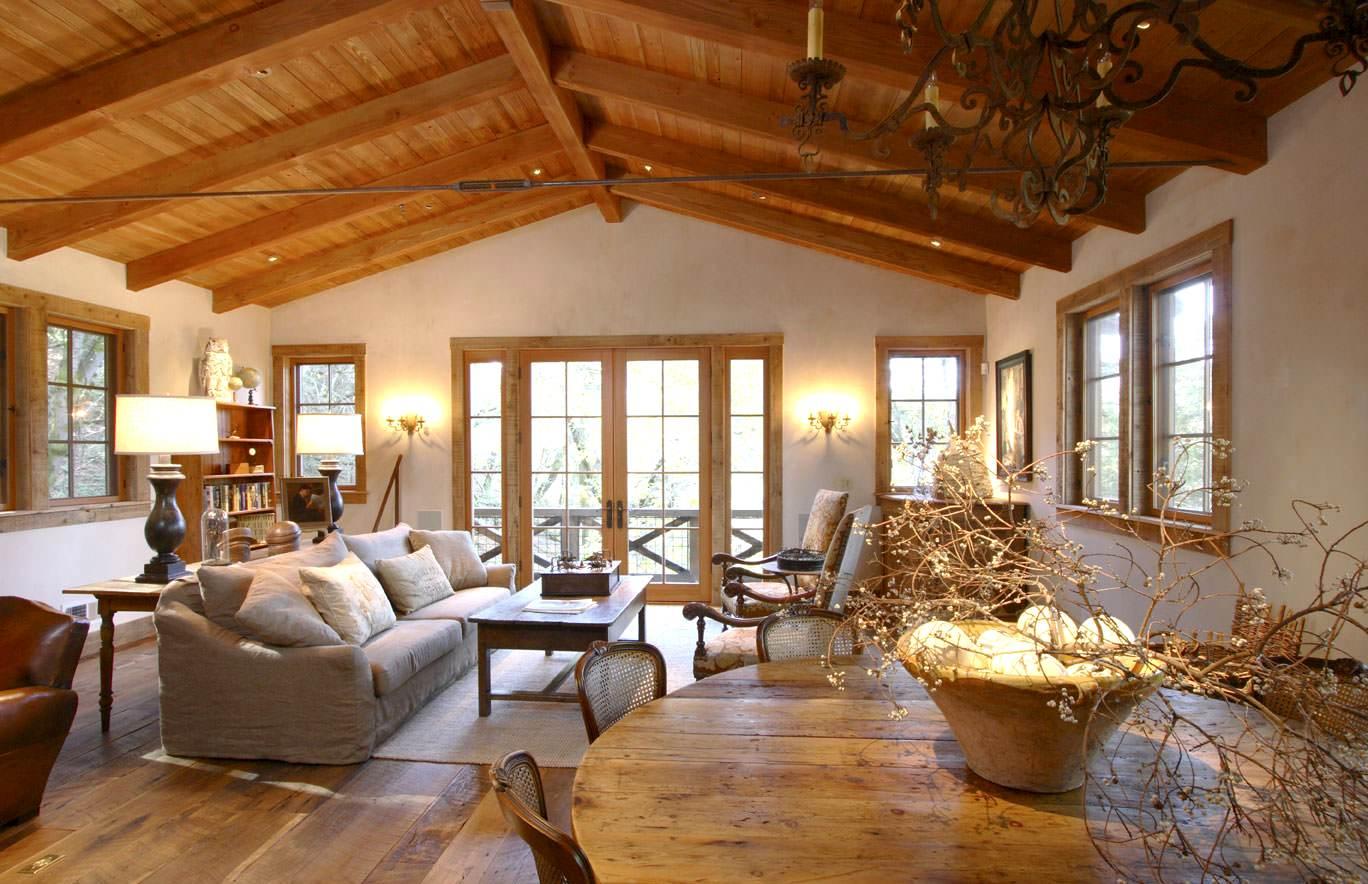 дизайн деревянного дома фотогалерея интерьера6