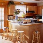 дизайн интерьера деревянного загородного дома3