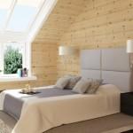 дизайн интерьера деревянного загородного дома5