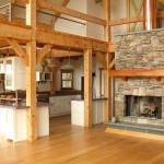 дизайн интерьера деревянного загородного дома6