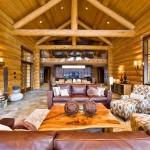 дизайн интерьера деревянных домов фото