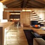 дизайн интерьера деревянных домов фото1