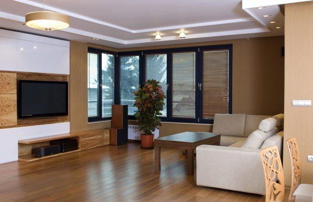 дизайн проект интерьера деревянного дома ламинат