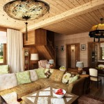 дизайн проект интерьера деревянного дома1