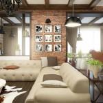 дизайн проект интерьера деревянного дома6