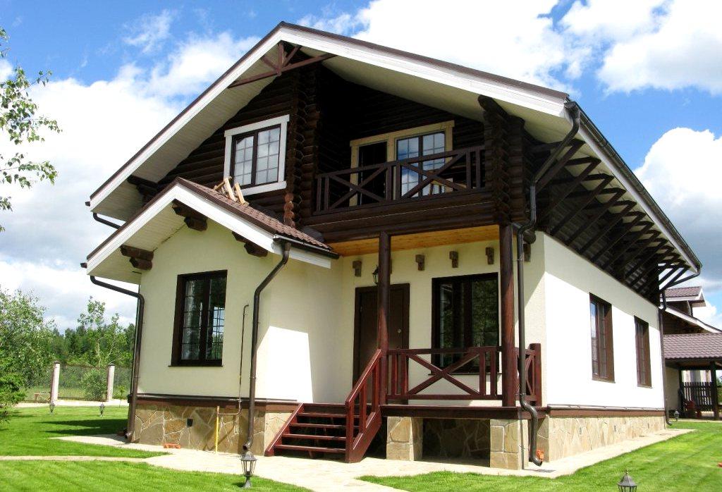дом шале2