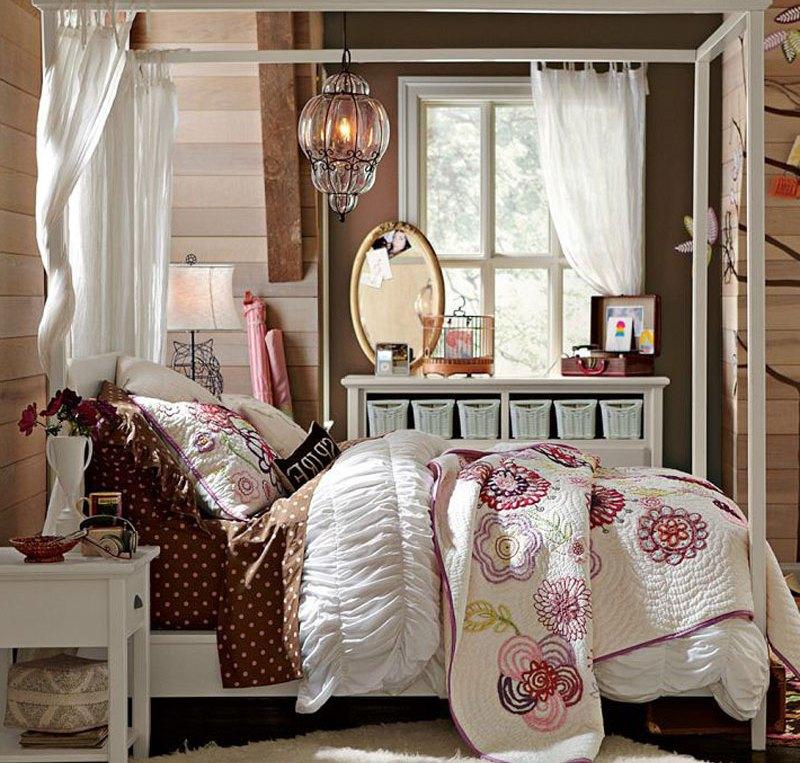 спальни в деревянном доме