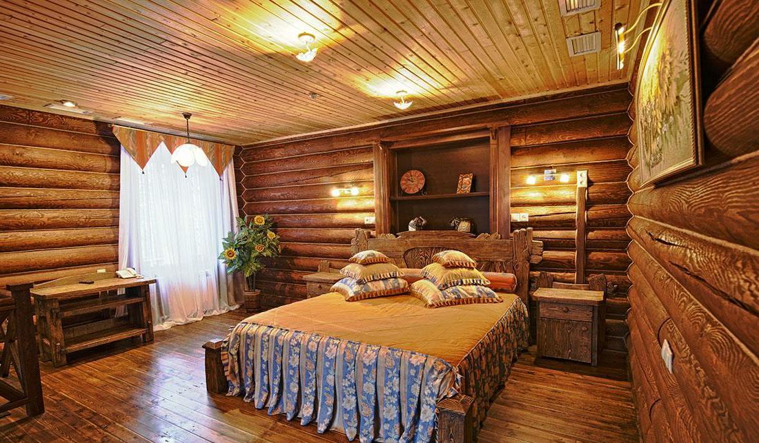спальня в русском стиле1
