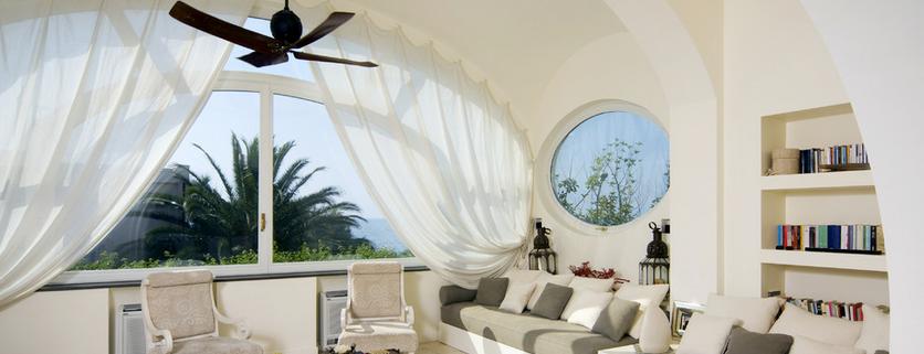 шторы на мансардных окнах