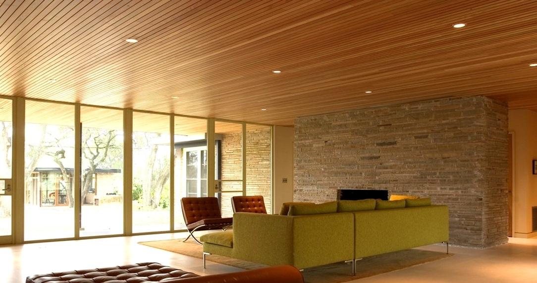 девянный потолок