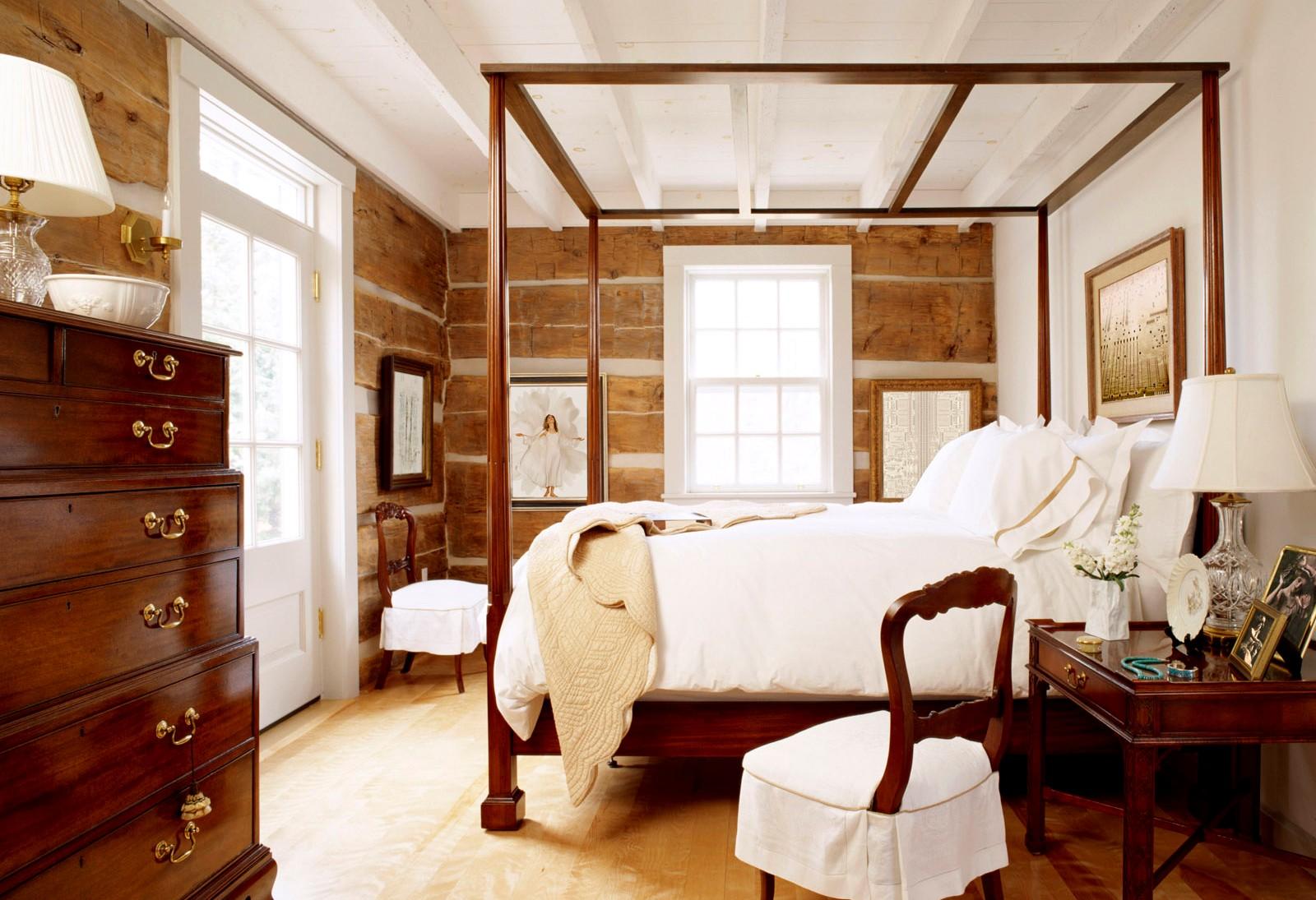 деревянная спальня интерьер2