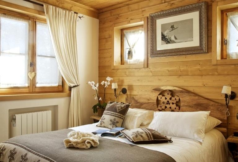 деревянная спальня интерьер3