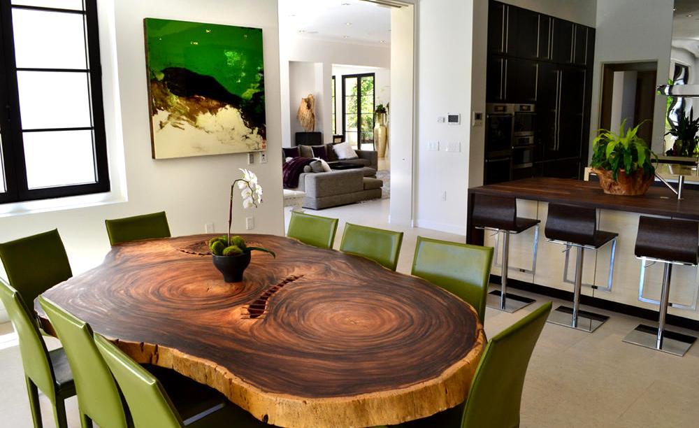 деревянные кухни интерьер
