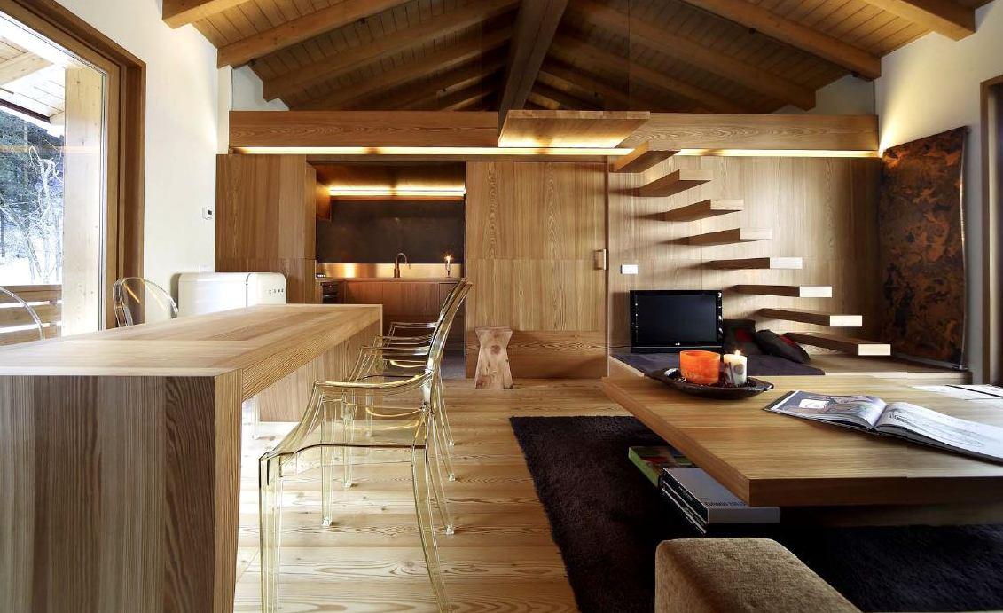 деревянный интерьер2