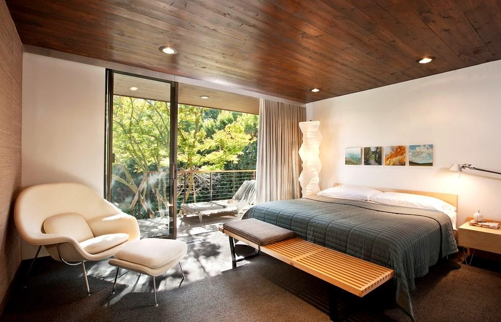 деревянный потолок 4