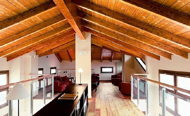 деревянный потолок2