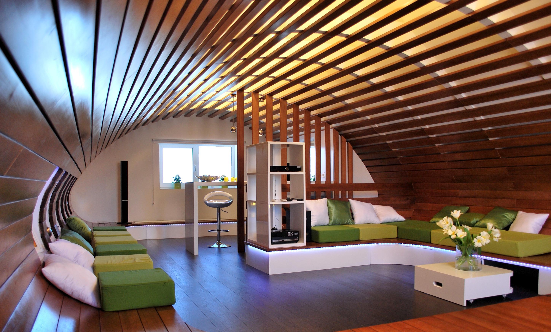 деревянный потолок3