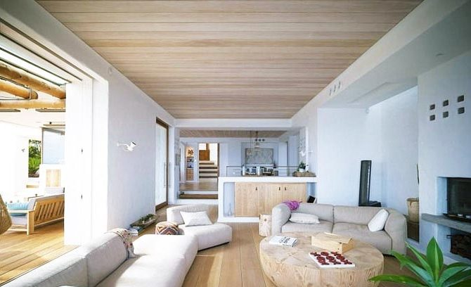 деревянный потолок5