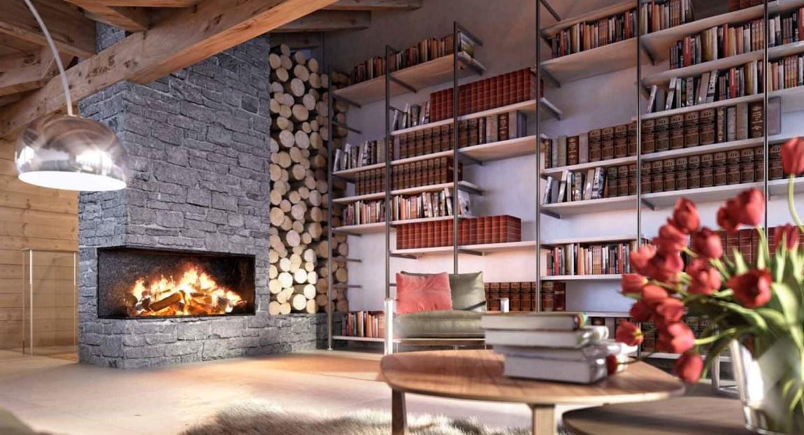интерьеры деревянных домов1