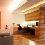 интерьер зала деревянного дома3
