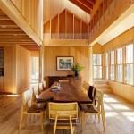 красивые интерьеры деревянных домов