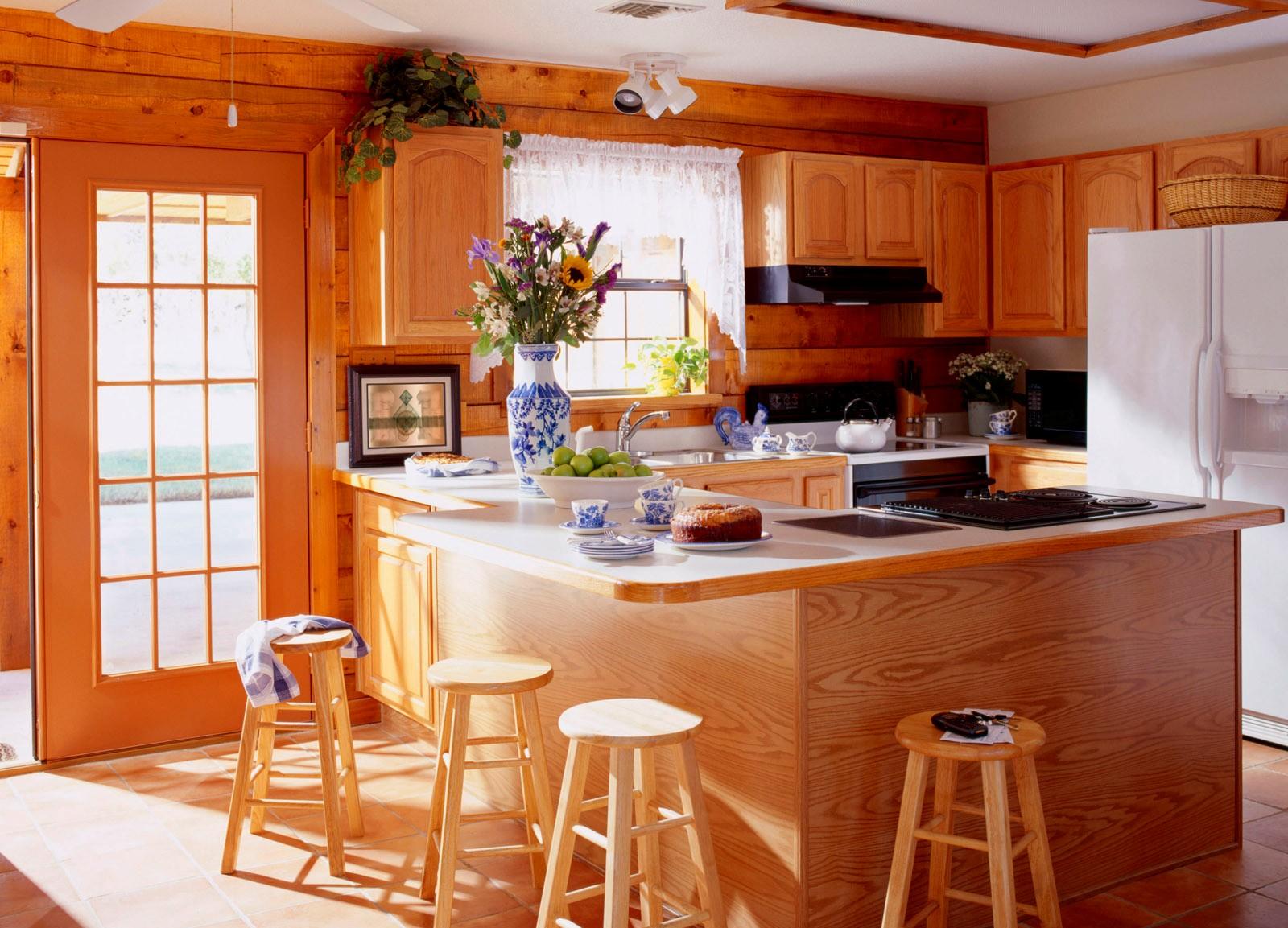 красивые интерьеры деревянных домов2