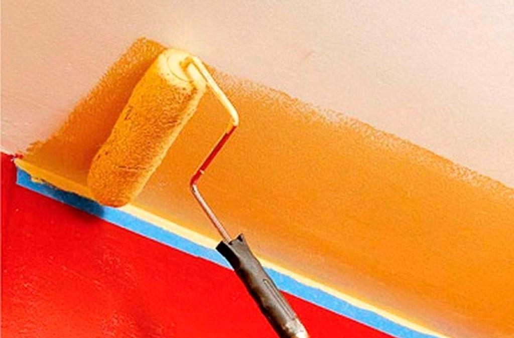 краска для деревянных потолков