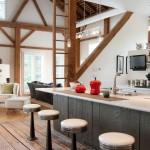 кухня балки