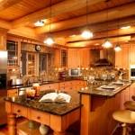 современная деревянная кухня2