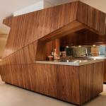 современная деревянная кухня5
