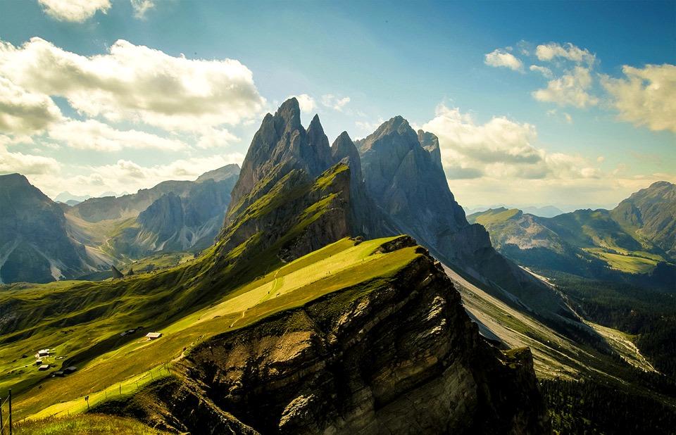 горы Доломиты, Италия
