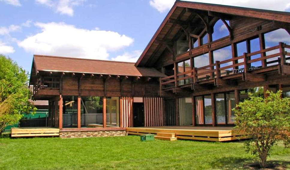 деревянные дома коттеджи2