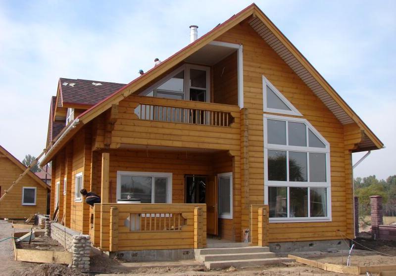 деревянные дома коттеджи3