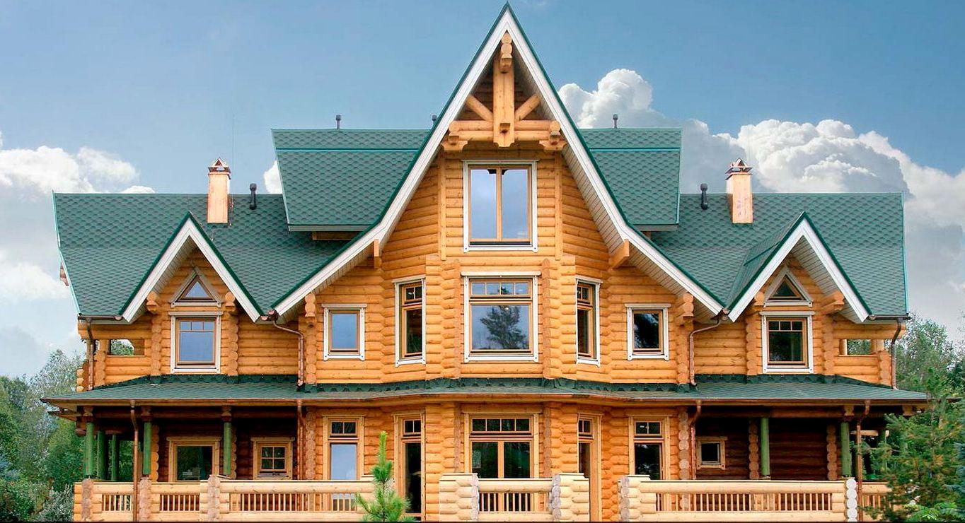 деревянные дома коттеджи4