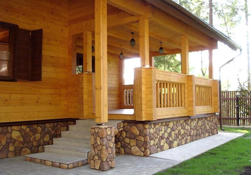 деревянные коттеджи крыльцо2
