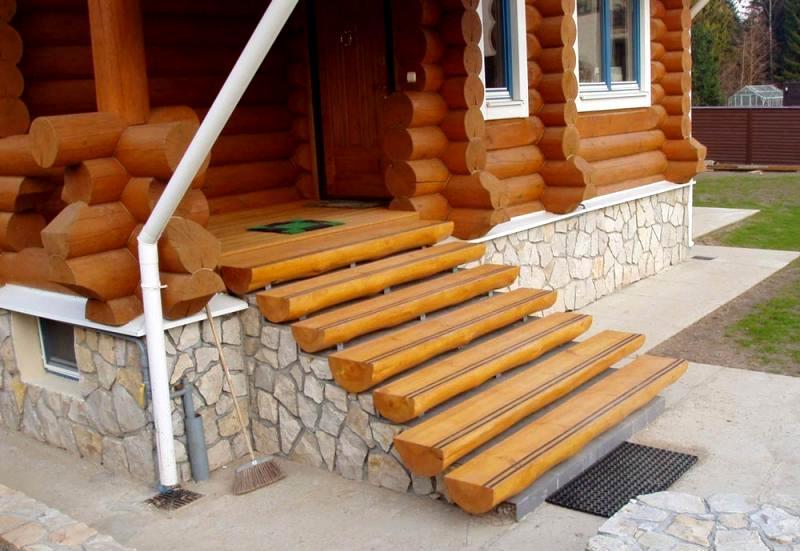 деревянные коттеджи строительство крыльца