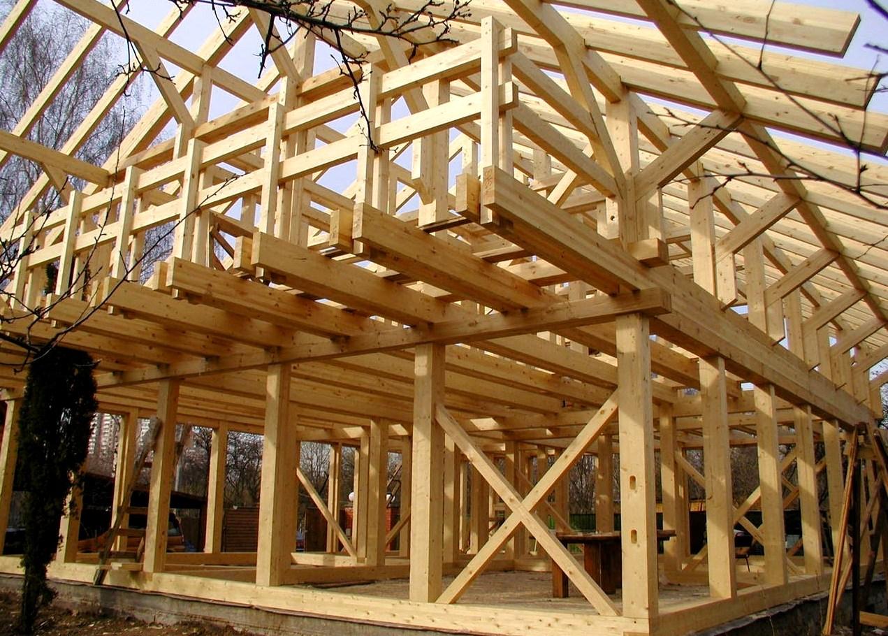 деревянные коттеджи строительство