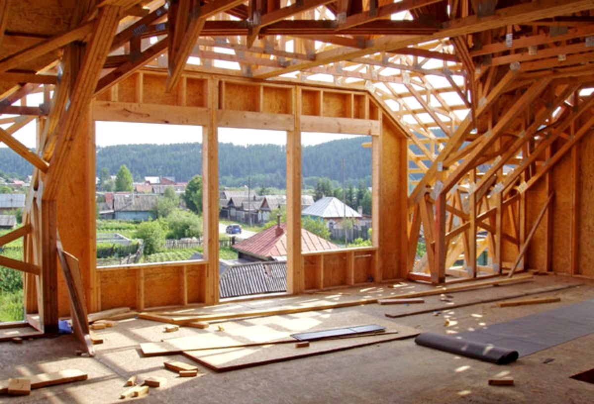 деревянные коттеджи строительство3