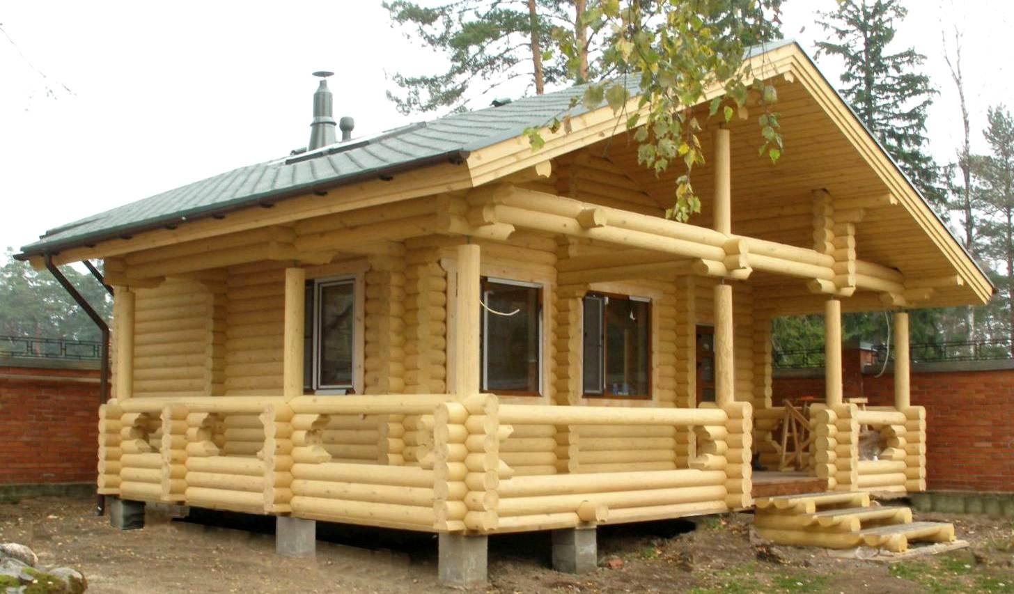 деревянные коттеджи 4