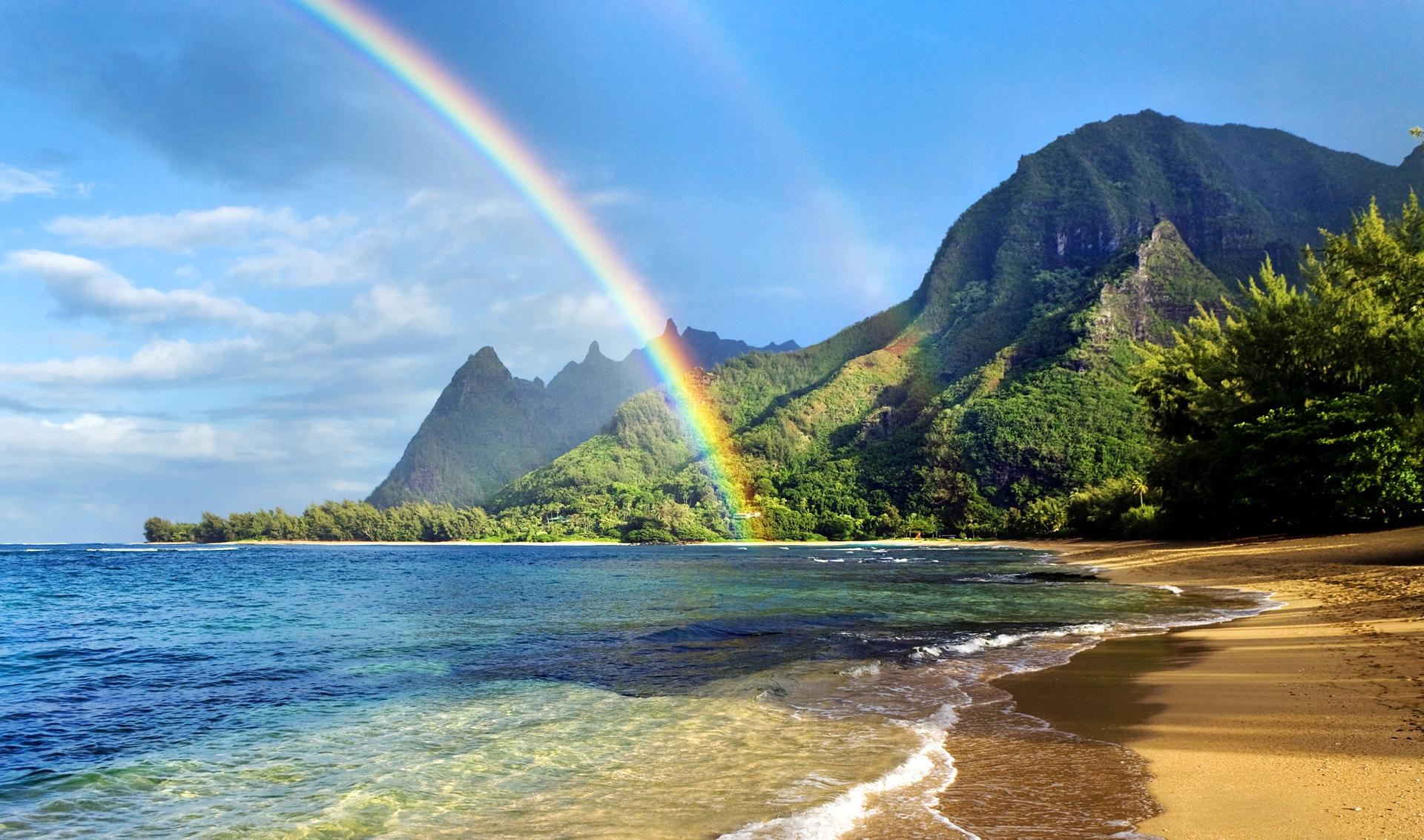 на Гаваях