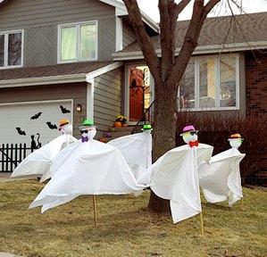 двор на хэллоуин