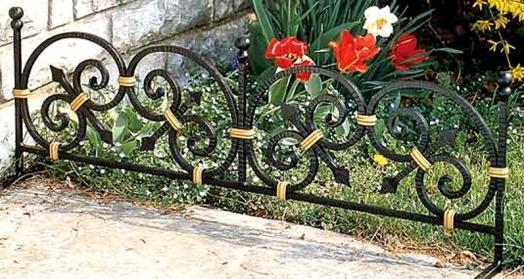 забор металлический декоративный
