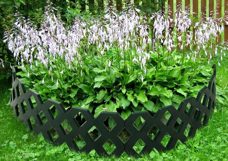 пластиковый декоративный забор