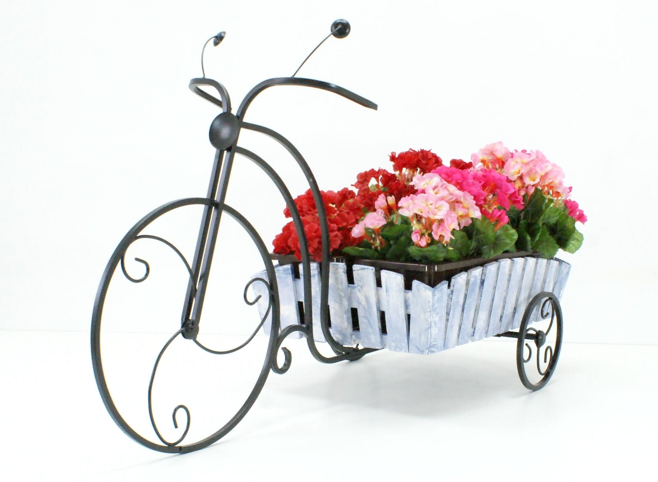подставки под цветы велосипед