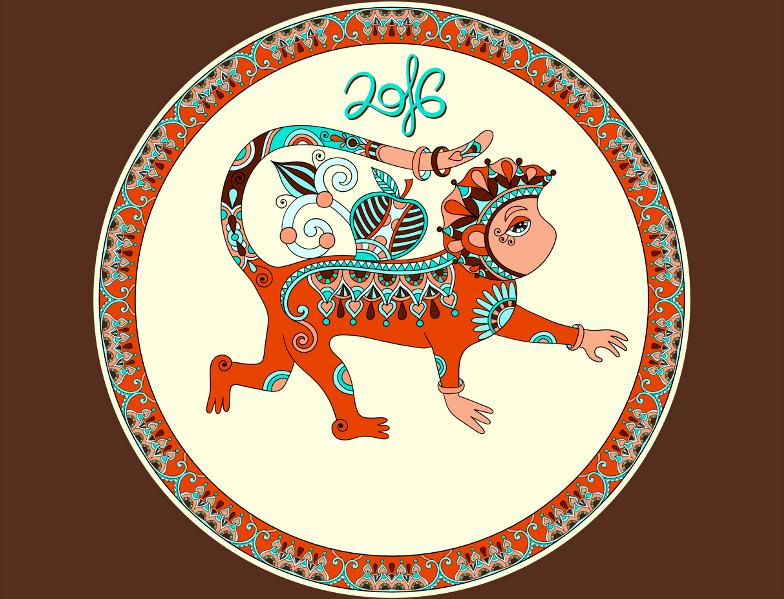 год обезьяны восточный календарь